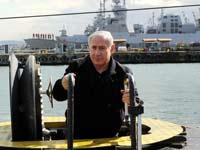 בנימין נתניהו בצוללת / צילום אבי אוחיון לעמ