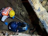 תאונה באתר בנייה  / צילום: זקא