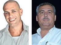 נחום ביתן ועדי עזרא / צילומים: תמר מצפי ושוקה כהן יחצ