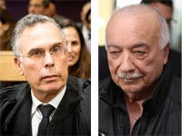 אליעזר פישמן ועורך דין יוסי בנקל/ צילומים: שלומי יוסף