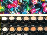 מוצרי איפור שחלקם מזוייפים/ צילומים: רויטרס, בלומברג ו– Shutterstock/ א.ס.א.פ קריאייטיב