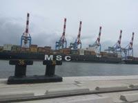 """שביתה בנמל חיפה/ צילום: """"עושים עניין"""""""