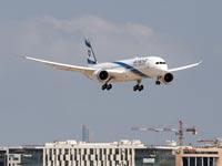 אל על נחיתה  787 / צילום: סיון פרג'