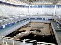 הבריכה האולימפית בריו / צילום: רויטרס