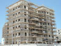 בנייה בחריש / צילום: תמר מצפי