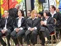 השבעת שופטים בבית הנשיא / צילום: שלומי יוסף