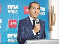 """פטריק דרהי. הבעיות בעסקי התקשורת שלו התפשטו מאירופה לארה""""ב / צילום: רויטרס - Benoit Tessier"""