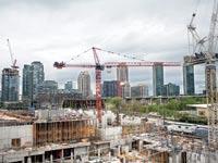 פרויקט בנייה למגורים בטורונטו, קנדה / צילום: בלומברג