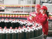 פס ייצור של קוקה-קולה / צילום:אילוסטרציה בלומברג