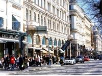 רחוב בהלסינקי / צילום: רויטרס Ints Kalnins