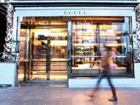 חנות של גוצ'י בקאן צילום:רויטרס, Eric Gaillard