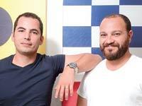מתן פלד (מימין) ועמי דניאל, ווינדוורד / צילום: איל יצהר