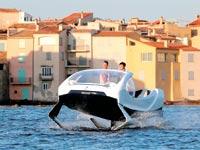 המונית של SeaBubble/ צילום: רויטרס, Philippe Laurenson