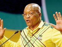 נשיא דרום אפריקה ג'ייקוב זומה / צילום: רויטרס