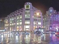 חנות הדגל של לואי ויטון בכיכר ונדום / צילום:בלומברג ,Balint Porneczi