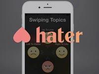 hater האפליקציה הייטר / צילום: מסך