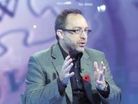 ג'ימי וויילס, ממייסדי ויקיפדיה / צילום: בלומברג