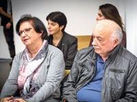 אליעזר וטובה פישמן בבית המשפט  / צילום:  שלומי יוסף