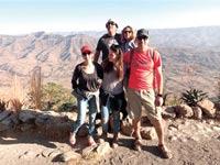 משפחת ירון־אלדר־פלר המורחבת בטיול באתיופיה / צילום: אלבום פרטי