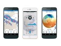 אפליקציית דארק סקיי / צילומי מסך