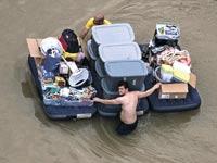 שטפון ביוסטון / צילום: רויטרס
