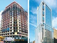 הדמיית המלון (מימין) ומראהו הנוכחי / צילומים: מצגת החברה
