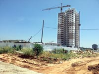 בנייה בראשון לציון / צילום: תמר מצפי