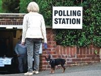 הצבעה בבריטניה / צילום: רויטרס