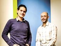 """כפיר מויאל (מימין) וגלעד וולצוביץ'. פיילוט ב–6 מדינות בארה""""ב / צילום: סיון פרג'"""