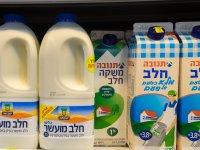 מקררי חלב בסופרמרקט / צילום: שאטרסטוק, א.ס.א.פ קריאייטיב