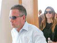 אבנר קופל בבית המשפט, היום. יחל לרצות את מאסרו ב–1 במאי / צילום: שלומי יוסף