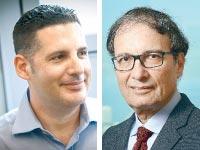 דוד חודר ודניאל ליבאי / צילום: שלומי יוסף