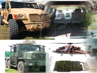 כלי רכב עם מיגון של פמס / מתוך אתר החברה