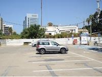 מתחם רשות השידור סמוך לפארק שרונה / צילום: שלומי יוסף