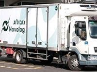 משאית של נובולוג / צילום: אתר החברה