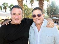 אלי להב (מימין) ואיליק רוז'נסקי / צילום:  יוסי כהן