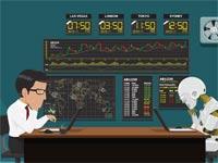 ניהול השקעות רובוטי    / איור: Shutterstock/ א.ס.א.פ קרייטיב