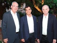 דניאל זייפמן אמנון שעשוע ושמשון הראל  / צילום:איתי בלסון