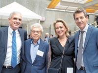 אורי לוין, לילך אשר–טופילסקי, סם דומב ויוסי בכר /  צילום: ג׳ימס לי