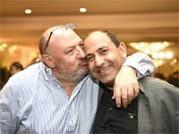 רמי לוי והראל ויזל / / צילום: צילום: אבי חיון