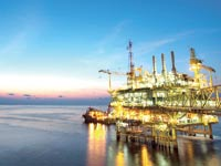 חיפושי נפט וגז טבעי במפרץ מקסיקו / צילום: מצגת נאוויטס פטרוליום