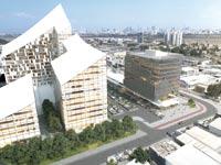מרכז מסחרי ומשרדים בחולון / הדמיה: החברה הכלכלית ירושלים
