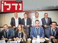 """וועדה פסגת הנדל""""ן 2017 משתתפי הפאנל / צילום: שלומי יוסף"""