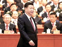 נשיא סין, שי ג'ינפינג. S&P הורידה את דירוג החוב ל־A פלוס / צילום: China Daily / רויטרס