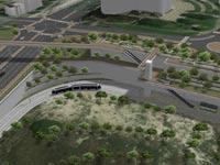 הדמיה של רכבת קלה מחיפה לנצרת  / RDV Systems