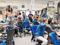 מעבדה של אינטל בחיפה / צילום: באדיבות אינטל