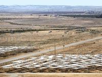 שדה סולארי בדרום הארץ / צילום: רויטרס