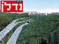 הדמיית מחלף הראל / הדמיה: קולקר, קולר אפשטיין אדריכלים