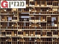 מודל של פרויקט המיקרו־דירות בניו יורק / צילום: AFP