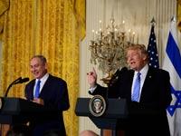 """ראש הממשלה בנימין נתניהו נפגש עם נשיא ארה""""ב דונלד טראמפ בבית הלבן / צילום: אבי אוחיון לע""""מ"""